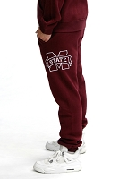 Mississippi State Bulldogs Fleece Jogger Pant (Maroon)