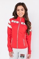 UNLV Rebels Womens Yoga Jacket (Red)