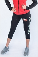 Western Kentucky Hilltoppers Womens Yoga Capri Pant (Black)
