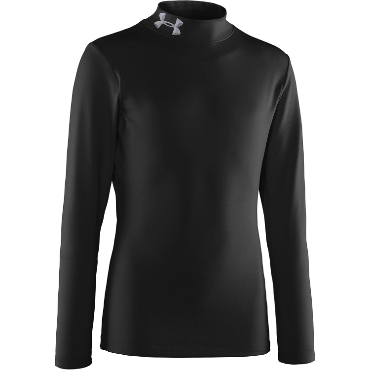 Under Armour Boys ColdGear Evo Fitted Baselayer Mock - Special