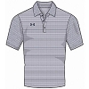 Under Armour Mens Raise Stripe Polo Jersey