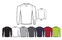 Under Armour Boys ColdGear Armour Fitted Crew
