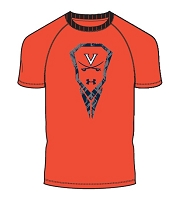Under Armour Boys Logo Virginia Lacrosse Tee Shirt