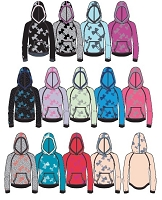 Under Armour Girls Kaleidalogo Hoody