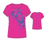 Under Armour Girls Stick Lacrosse Shortsleeve Tee Shirt