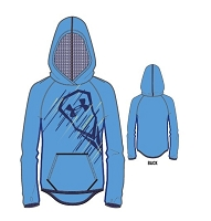 Under Armour Girls Coldgear Lacrosse Hoody