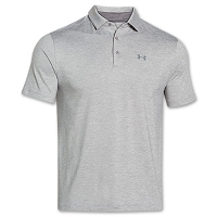 Under Armour Mens Playoff Heather Golf Polo