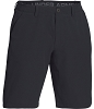 Under Armour Mens Airvent Flat Front Short - Black - Size 34