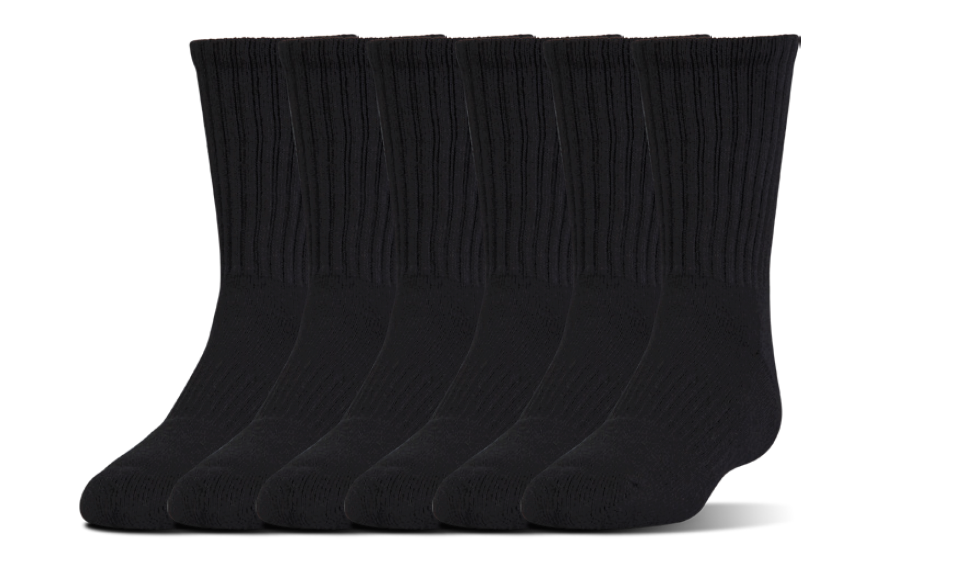 Under Armour Training Cotton Crew Socks