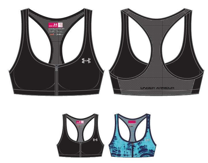 Under Armour Womens Armour Bra Protegée C Cup 559c4dfdd691