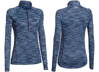 Under Armour Womens Tech Space Dye Half Zip Long Sleeve Shirt