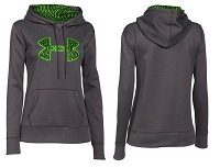 Under Armour Womens Storm Armour Fleece Printed Big Logo Hoodie