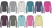Under Armour Womens Cozy Waffle Long Sleeve