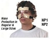 Athletic Specialties Basektball Nose Protector - NP1 for Regular Size Faces