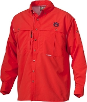 Drake Auburn Vented Long Sleeve Wingshooter's Shirt