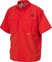 Drake Auburn Vented Short Sleeve Wingshooter's Shirt