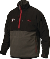 Drake Georgia Game Day Eqwader Quarter Zip