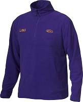 Drake LSU Camp Fleece Pullover