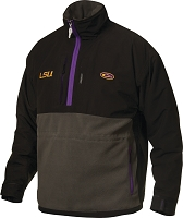 Drake LSU Game Day Eqwader Quarter Zip