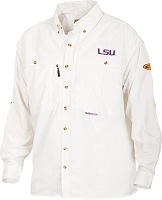 Drake LSU Vented Long Sleeve Wingshooter's Shirt
