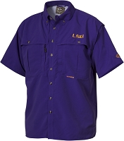 Drake LSU Vented Short Sleeve Wingshooter's Shirt