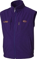 Drake LSU Windproof Fleece Vest