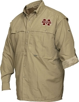 Drake Mississippi State Vented Long Sleeve Wingshooter's Shirt