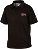 Drake Mississippi State Performance Polo - Black - Size XL