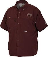 Drake Mississippi State Vented Short Sleeve Wingshooter's Shirt