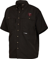 Drake Texas A&M Vented Short Sleeve Wingshooter's Shirt