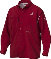 Drake Alabama Vented Long Sleeve Wingshooter's Shirt