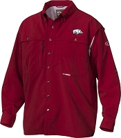 Drake Arkansas Vented Long Sleeve Wingshooter's Shirt