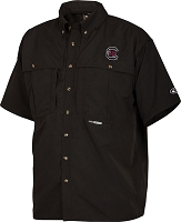Drake South Carolina Vented Short Sleeve Wingshooter's Shirt