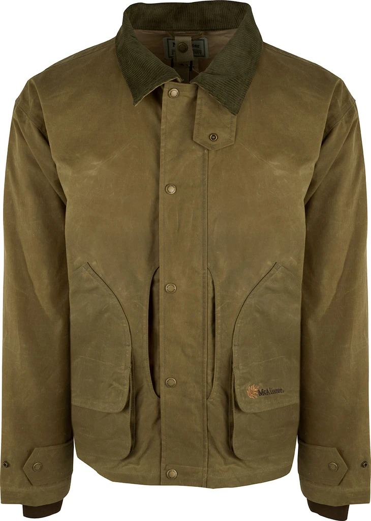 Drake Mens McAlister Wax Canvas Field Jacket