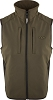 Drake EST Camo Windproof Tech Vest - Olive Green -Size Large