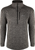 Drake Mens Baselayer Top Charcoal Heather