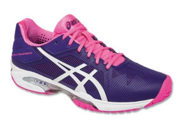 chaussures asics femme gel solution speed 3