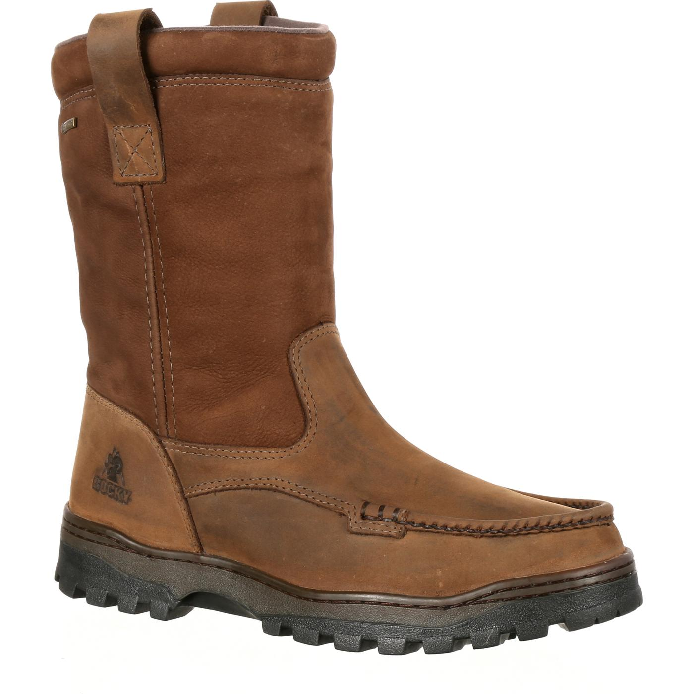 Rocky Outback Gore Tex Waterproof Wellington Boot