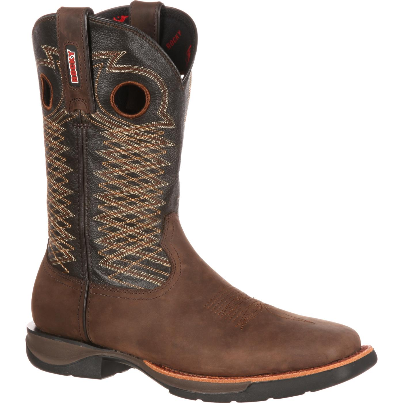 Rocky Mens Comfortable LT Western Boot