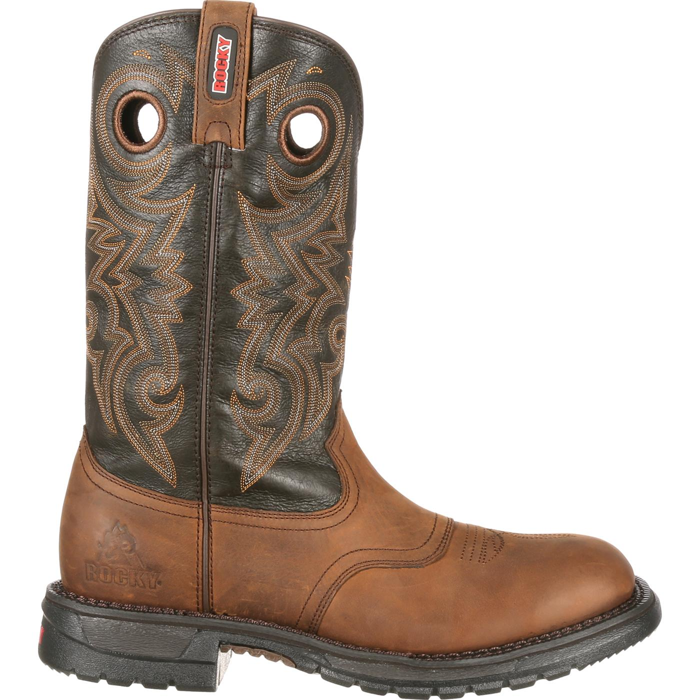 fb10f26f32e Rocky Mens Original Ride Waterproof Western Saddle Boot