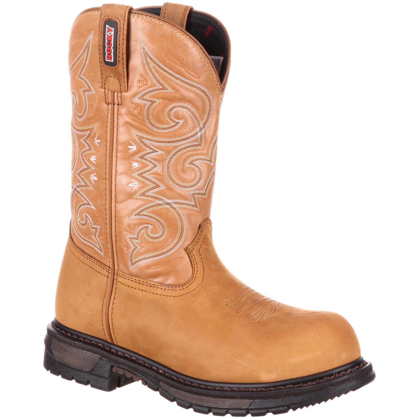 d54b73fc1915e Add to My Lists. Rocky Womens Original Ride Composite Toe Waterproof Western  Boot