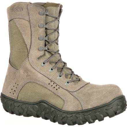 Rocky Mens S2V Composite Toe Tactical Green Military Boot