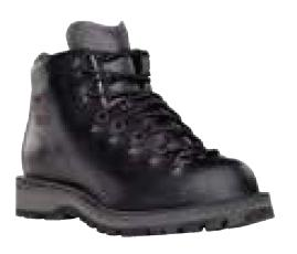 danner mens mountain light ii black boots. Black Bedroom Furniture Sets. Home Design Ideas