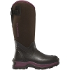 Lacrosse Womens Alpha Thermal Chocolate/Plum 7.0Mm Boots