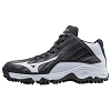 Mizuno Mens 9-Spike Advanced Erupt 3 Mid Turf Shoe