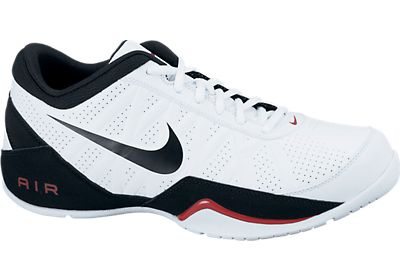 19f1614beb9a Nike Air Ring Leader Low - White Black Sport Red - Size 15