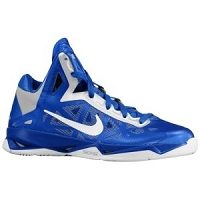 Women's Nike Zoom Hyperchaos TB - Royal/White-Metallic Silver