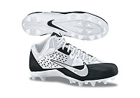 Nike Alpha Strike D - White/White-Black - Size 10