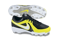 Nike Womens Unify Strike MCS - Black/White-Neon Yellow - Size 6