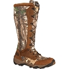 Rocky Mens Retraction Waterproof Lace Up Snake Boot